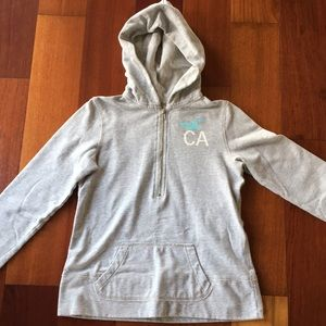 Hollister Half-Zip Sweatshirt